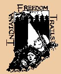 Indiana Freedom Trails logo